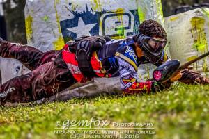 Ben Green diving into Snake 1